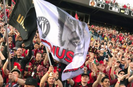 INTERESTING STORY: ATLANTA'S SUPPORTERS WORK TO BUILD UNIQUE CULTURE