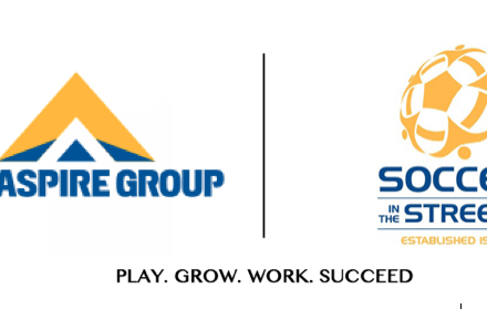 THE ASPIRE GROUP TO HOST HOMELESS SOCCER TOURNAMENT