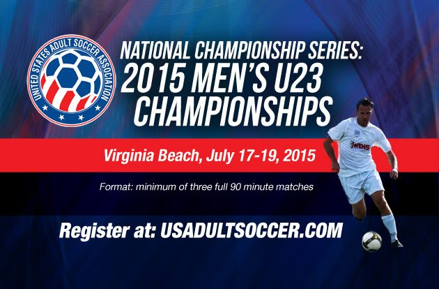 unnamed-15 TOURNAMENT ALERT: US ADULT SOCCER WILL STAGE THE NATIONAL CHAMPIONSHIPS SERIES FROM JULY 14 THROUGH JULY 19, 2015 AT HAMPTON ROADS SOCCER COMPLEX IN VIRGINIA BEACH, VA