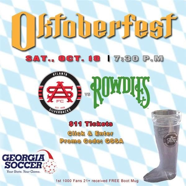 7 PRO UPDATE: OKTOBERFEST AT THE SILVERBACKS! GET $11 GENERAL ADMISSION TICKETS AND A SILVERBACKS MUG!