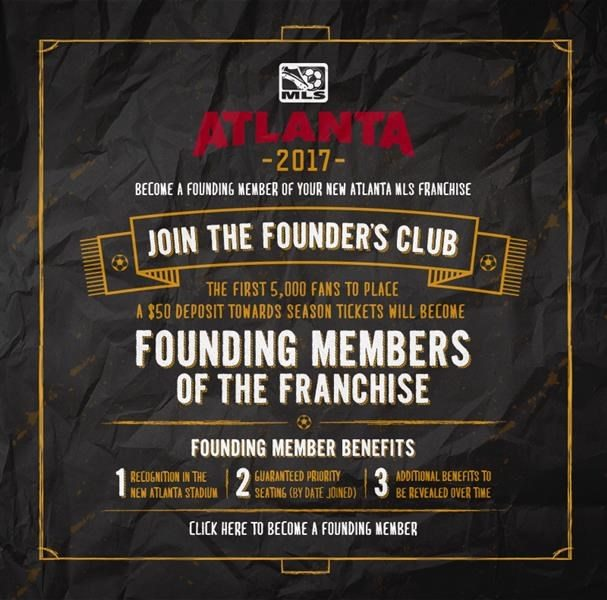 unnamed-22 BECOME A FOUNDING MEMBER OF ATLANTA'S MLS TEAM!