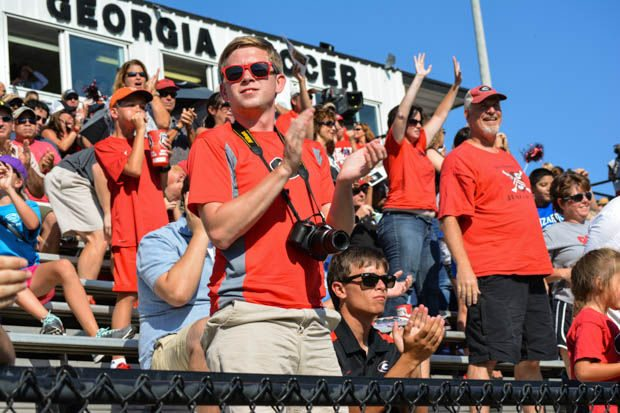unnamed-30 COLLEGE UPDATE: THE GEORGIA WOMEN MOVED UP TO FOUR SPOTS TO NO. 16 IN THE NATIONAL SOCCER COACHES ASSOCIATION OF AMERICA (NSCAA) POLL.
