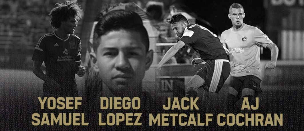 yo TOURNAMENT ALERT: ATL UTD 2 ANNOUNCED THE FIRST PLAYER SIGNINGS IN CLUB HISTORY