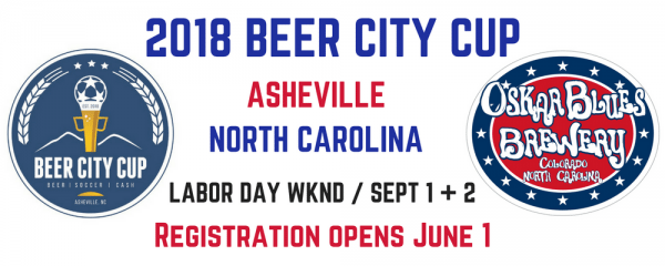 unnamed Tournament Alert: Registration for 2018 Beer City Cup Opens June 1