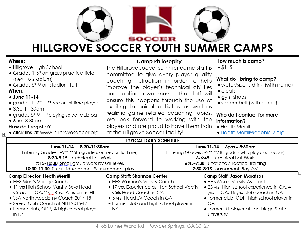 1528204141083blob Camp Alert: Level up your Soccer Skills, Join Hillgrove Soccer Youth Summer Camps Now!