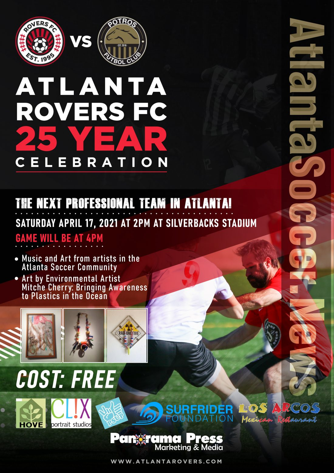 FLYER1-1-1100x1556 Atlanta Rovers FC Celebrate 25 Years and you are invited to the Party