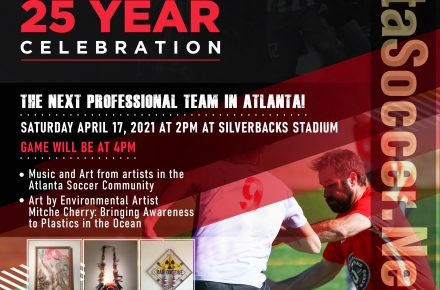 The Next Professional Soccer Team in Atlanta Celebrates 25 Years of Existence