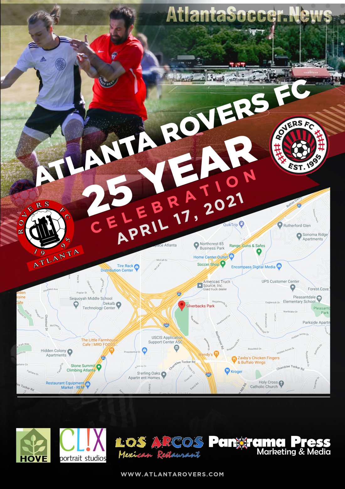 FLYER2-1-1100x1556 Atlanta Rovers FC Celebrate 25 Years and you are invited to the Party