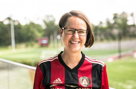 Atlanta United's top female scout gives a new perspective to women empowerment