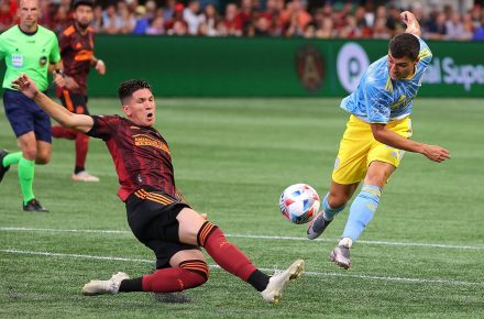 Atlanta United FC loses the chance of winning after a late Philadelphia Union goal
