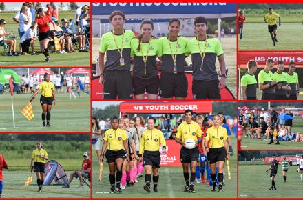Soccer referees are your heroes on the sidelines!
