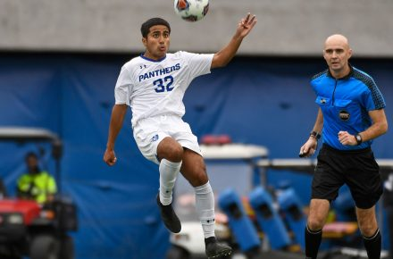 GSU Panthers men's soccer team gets 4th win with 4-2 road victory vs. Winthrop
